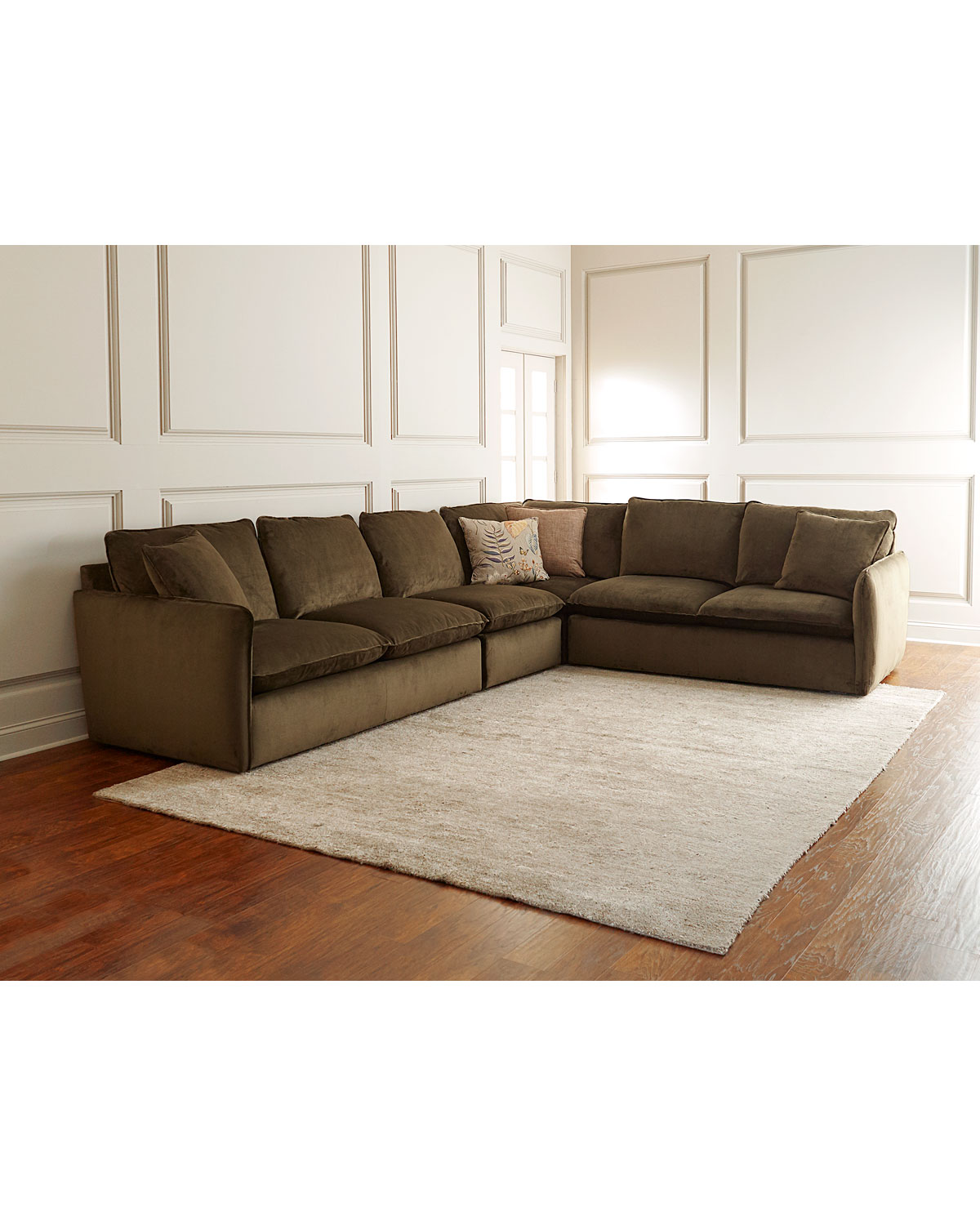 Sam Moorewetherbee 4 Piece Sectional