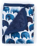 Image 1 of 4: Oilo Studio Elephant Jersey Cuddle Blanket