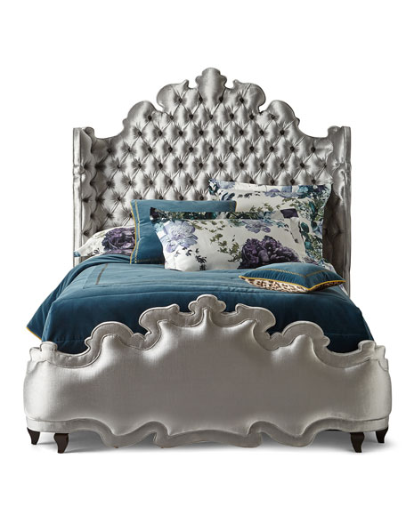 Haute House Isabella Tufted California King Bed