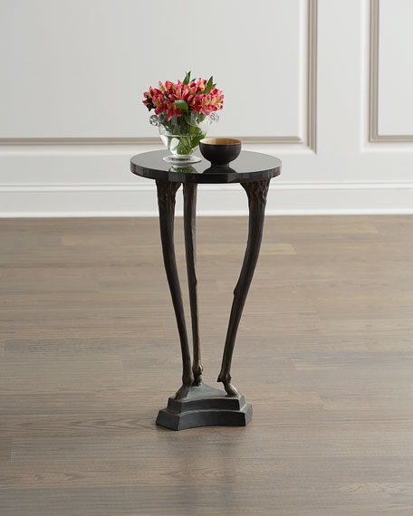 Global Views Fawn Leg Side Table