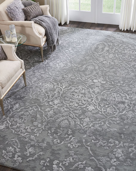 NourCouture Shande Hand-Tufted Rug, 5' x 8'