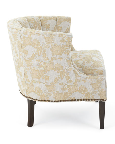 Quincy Channel Tufted Chair