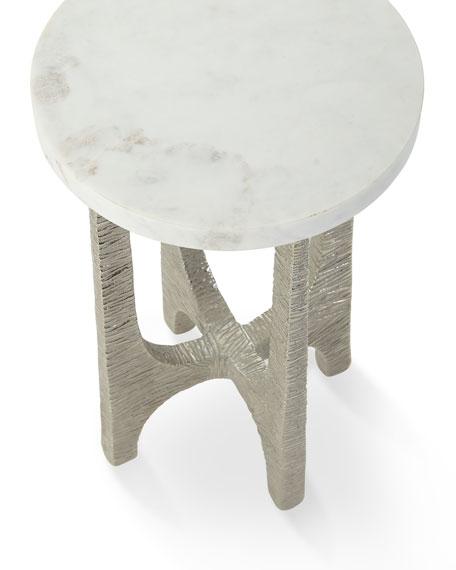 John-Richard Collection Lupu Marble Martini Table