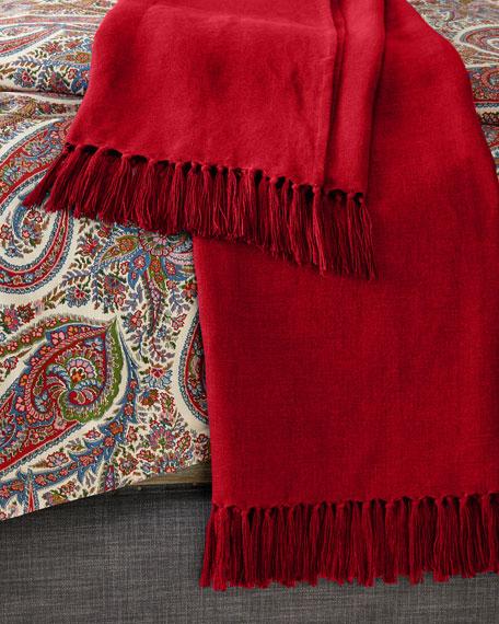 "Ralph Lauren Home Everly Throw Blanket, 54"" x 72"""
