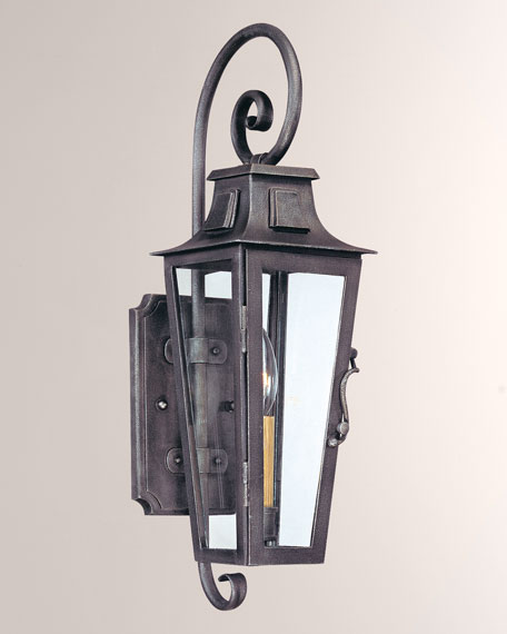 Troy Lighting Small Parisian Square Sconce