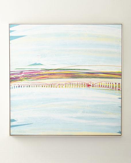 "John-Richard Collection ""Flower Garden"" Giclee Canvas Art by AA James"