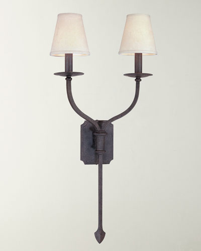 Two-Light La Brea Sconce