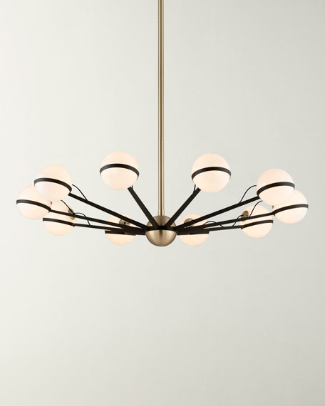 Troy Lighting Large Ace Chandelier