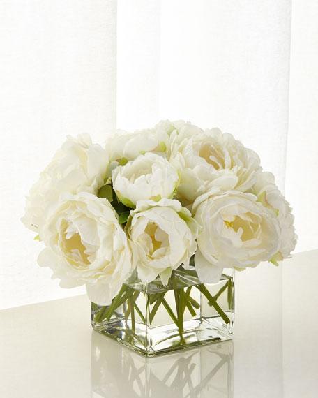 NDI White Peony Floral Arrangement