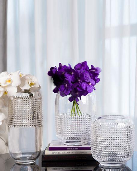 """Waterford Crystal Jeff Leatham Infinity 12"""" Vase"""