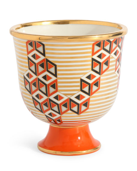Jonathan Adler Versailles Pedestal Vase