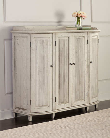 Owen Distressed Tall Console