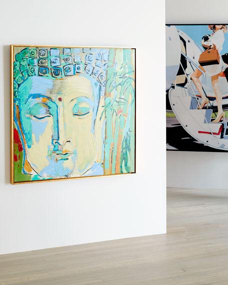 "RFA Fine Art ""Buddah"" Giclee Canvas Art by Robert Robinson"