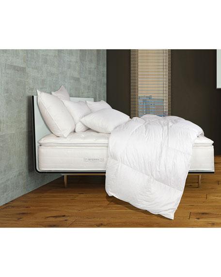 """SFERRA Mille Luxe Pillow Top Queen 9"""" Mattress Set"""