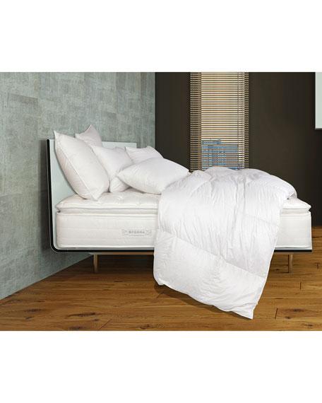 """SFERRA Mille Luxe Pillow Top Queen 5"""" Mattress Set"""