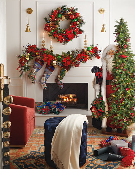 Ditz Designs By The Hen House Christmas Magic Santa