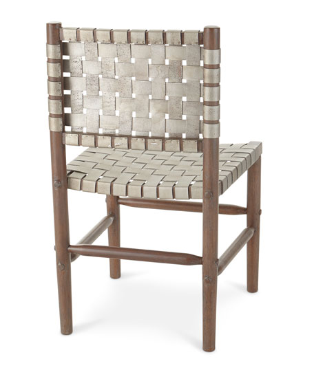 Arno Leather Dining Side Chair