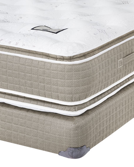 Shifman Mattress Saint Michele Dauphine Collection King Mattress & Box Spring Set