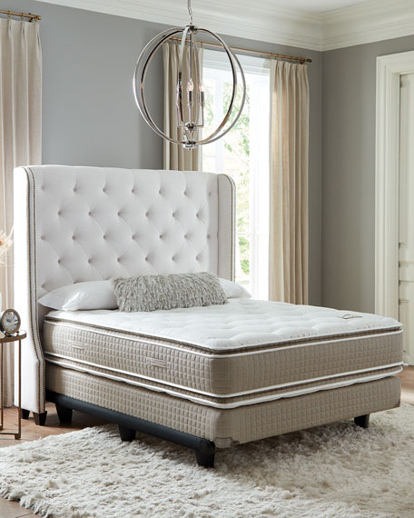 Shifman Mattress Saint Michele Dauphine Collection Queen Mattress & Box Spring Set