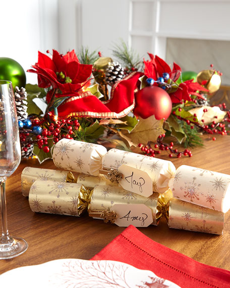 Robin Reed Gold Crown Christmas Crackers