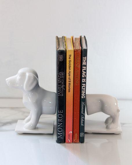 Rialheim Dachshund Dog Book Ends