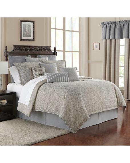 Waterford Baylen Reversible 4-Piece Queen Comforter Set