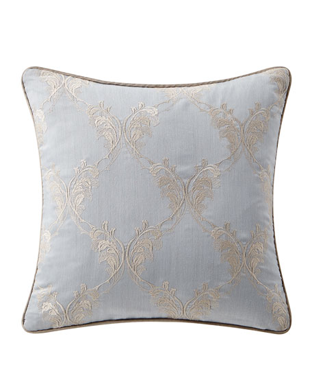 Waterford Baylen Embroidered Square Pillow, 18""