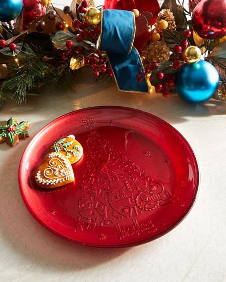 2019 Neiman Marcus Annual Glass Platter