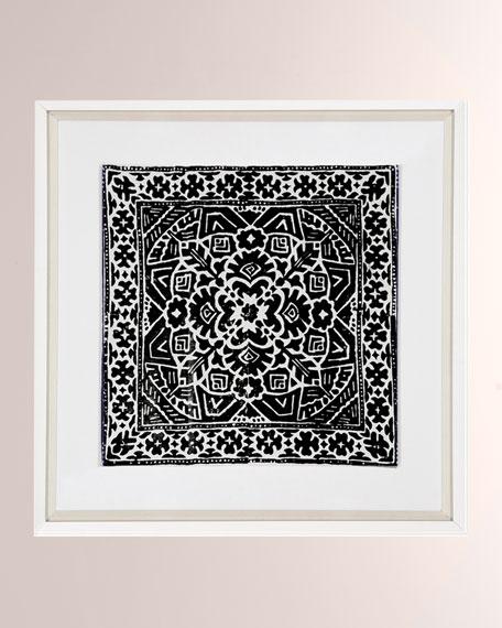 Kilim Full Black Artwork