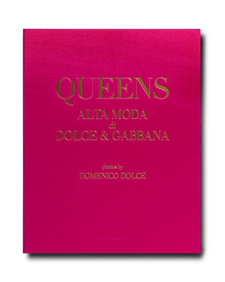 "Assouline Publishing ""Queens Alta Moda di Dolce & Gabbana"" Book by Domenico Dolce"