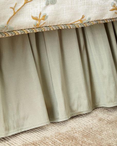 Austin Horn Collection California King Blossom Dust Skirt
