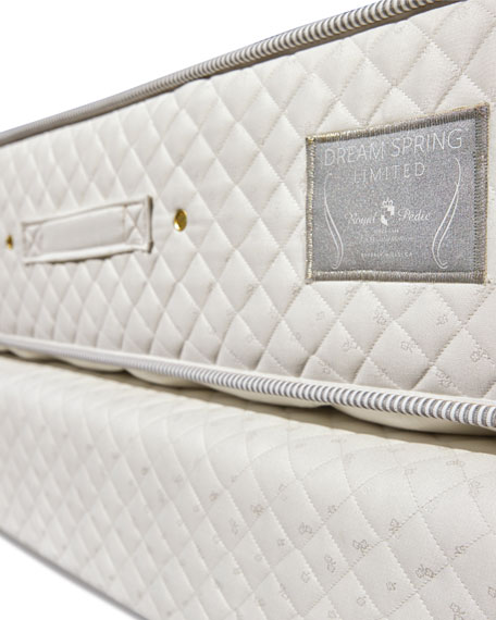 Royal-Pedic Dream Spring Limited Plush Queen Mattress Set