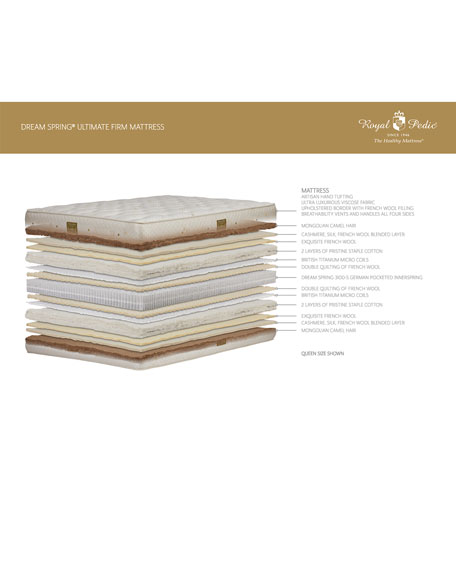 Royal-Pedic Dream Spring Ultimate Plush Twin Mattress