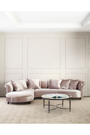 Haute House Audrey Channel Tufted Sectional