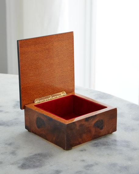 Barile Biagio Ballet Slipper Inlaid Wood Box