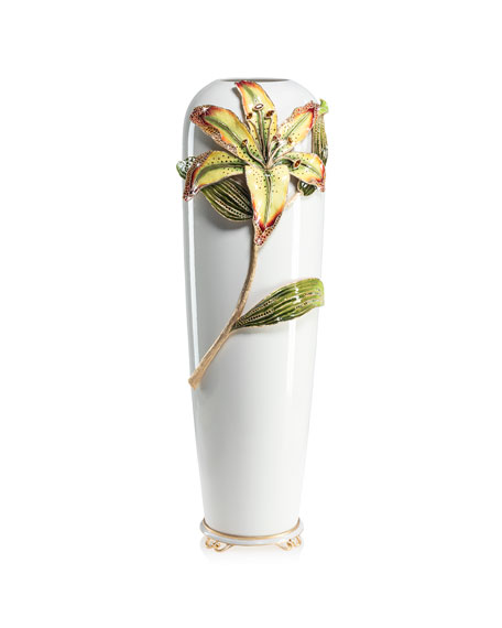 Jay Strongwater Lily Vase