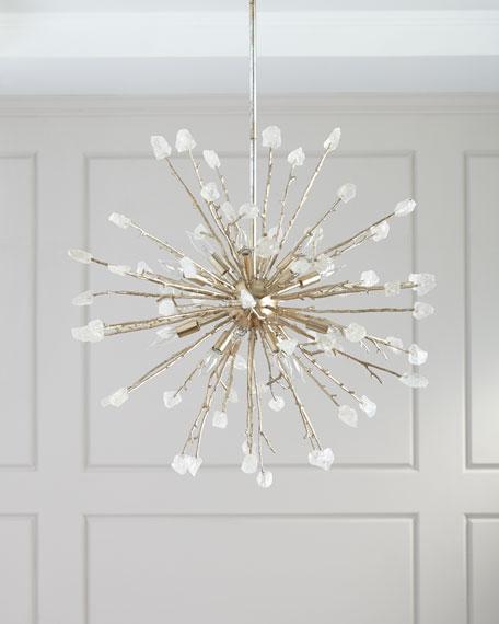 John-Richard Collection 16-Light Spherical Quartz Pendant Light
