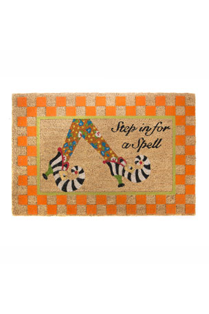 MacKenzie-Childs Step In For A Spell Entrance Mat
