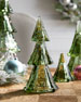 Juliska Berry & Thread Small Evergreen Tree Tower, Set of 3