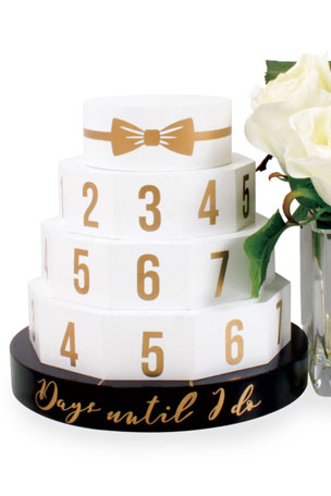 8 Oak Lane Wedding Cake Countdown Calendar
