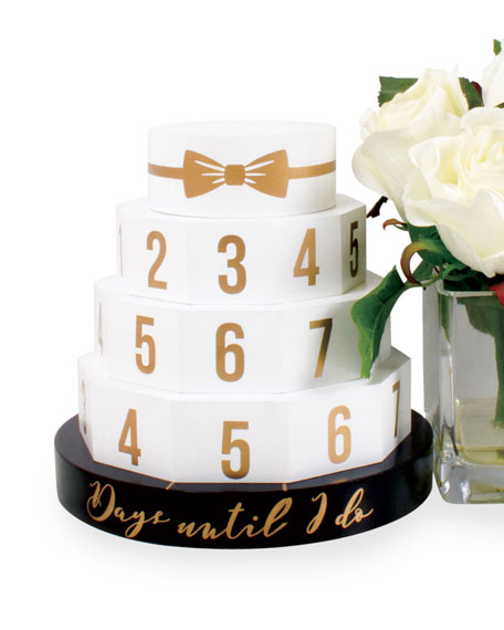 8 Oak Lane Wedding Cake Countdown Calendar
