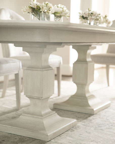 Bernhardt East Hampton Pedestal Dining Table