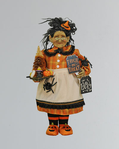 Lighted Trick Or Treat Witch