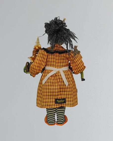 Karen Didion Originals Lighted Fall Harvest Witch