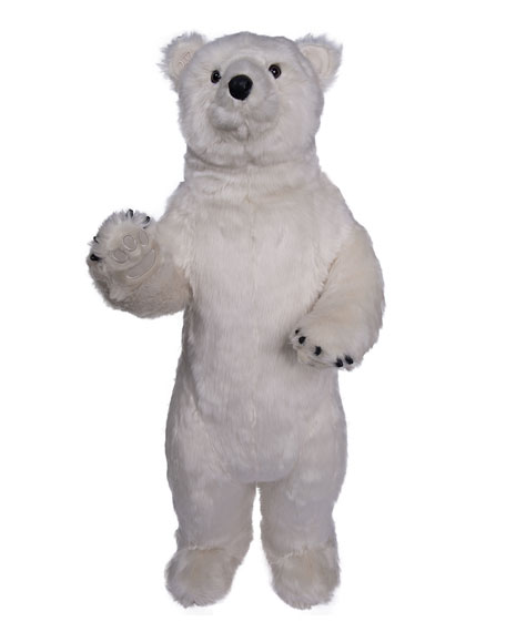 Ditz Designs By The Hen House Standing Polar Bear, 36""