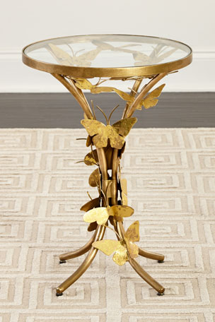 Jamie Young Flutter Away Butterfly End Table