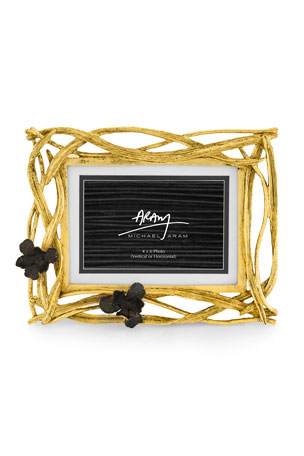 Michael Aram Black Iris Photo Frame