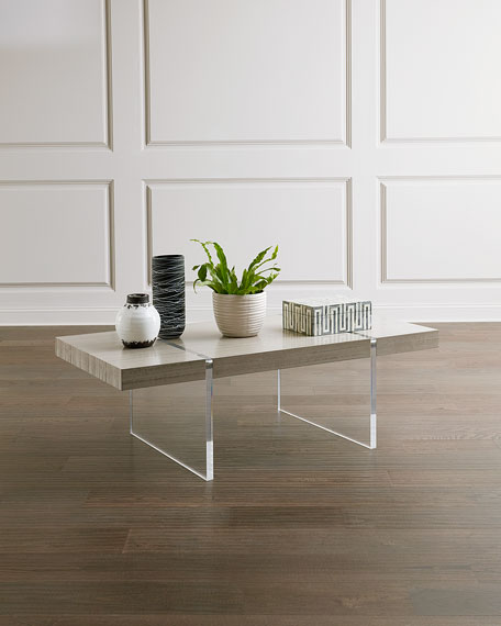 Image 1 of 2: John-Richard Collection Clichy Cocktail Table