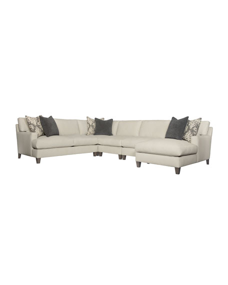 Image 2 of 2: Bernhardt Mila Right Armed Chaise Sectional