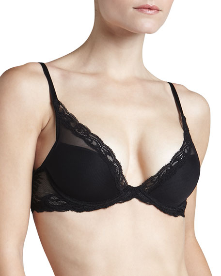 Natori Feather Contour Plunge Bra